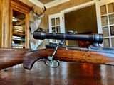 Joh. Springer Erben Custom - True Mauser Action - .257 Roberts - Double Set Tigger - Double Safety - Rare Rifle Rare Maker - Beautiful Marksman Rifle - 2 of 25