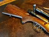 Joh. Springer Erben Custom - True Mauser Action - .257 Roberts - Double Set Tigger - Double Safety - Rare Rifle Rare Maker - Beautiful Marksman Rifle - 9 of 25