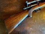 Joh. Springer Erben Custom - True Mauser Action - .257 Roberts - Double Set Tigger - Double Safety - Rare Rifle Rare Maker - Beautiful Marksman Rifle - 21 of 25