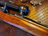 Joh. Springer Erben Custom - True Mauser Action - .257 Roberts - Double Set Tigger - Double Safety - Rare Rifle Rare Maker - Beautiful Marksman Rifle - 24 of 25