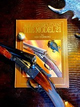 """Winchester Model 21 """"Walter P. Chrysler"""" - 20ga - 28"""" - """"CHRYSLER GUN"""" - As Featured on the Cover Of Ned Schwing's Book """"Winchester's Finest"""" Model 21 - 1 of 25"""