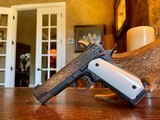 """Republic Forge Patriot Commander - 9mm - 5"""" - Damascus - Ivory Grips - NEW Gun - 17 of 25"""