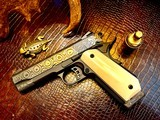 """Republic Forge Patriot Commander - 9mm - 5"""" - Damascus - Ivory Grips - NEW Gun - 3 of 25"""