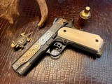 """Republic Forge Patriot Commander - 9mm - 5"""" - Damascus - Ivory Grips - NEW Gun - 21 of 25"""