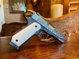 """Republic Forge Patriot Commander - 9mm - 5"""" - Damascus - Ivory Grips - NEW Gun - 13 of 25"""