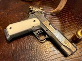 """Republic Forge Patriot Commander - 9mm - 5"""" - Damascus - Ivory Grips - NEW Gun - 1 of 25"""