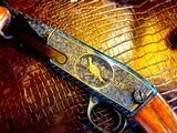 Winchester Model 61 - .22 Short Long & Long Rifle - Walter Kolouch engraved - All Custom Upgrade - Fine California Walnut