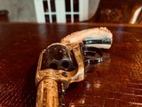"""Colt SAA 1st Generation Bisley Cole Agee Style Cattlebrand engraved - .38 Special - Colt Letter - 5 1/2"""" - Staghorn Grips - Y.O.Ranch Schreiner! - 13 of 25"""