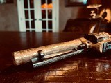 """Colt SAA 1st Generation Bisley Cole Agee Style Cattlebrand engraved - .38 Special - Colt Letter - 5 1/2"""" - Staghorn Grips - Y.O.Ranch Schreiner! - 18 of 25"""
