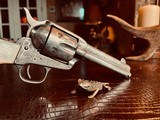 """Colt Model 1873 SAA - 45 LC - Cole Agee Style """"Cattle Brand"""" Engraved - Silver Plated - Mother of Pearl Stocks/Grips - 14 of 25"""
