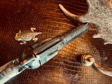 """Colt Model 1873 SAA - 45 LC - Cole Agee Style """"Cattle Brand"""" Engraved - Silver Plated - Mother of Pearl Stocks/Grips - 17 of 25"""