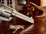 """Colt Model 1873 SAA - 45 LC - Cole Agee Style """"Cattle Brand"""" Engraved - Silver Plated - Mother of Pearl Stocks/Grips - 8 of 25"""
