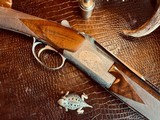 Browning Superposed Superlight Pointer- 410ga - M/F - J.M.Debrus/J.M.Florent Engraved - ca. 1976 - Signed 3 times - Rare Collaboration of Engravers - 7 of 24