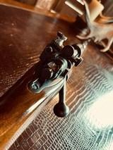 "Winchester Model 70 Pre-War Variation 4 Carbine - .30-06 Government - 20"" Barrel - Lyman 48 WJS Rear Side Mount Receiver Sight - COOL!! - 1 of 25"
