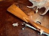 "Winchester Model 70 Pre-War Variation 4 Carbine - .30-06 Government - 20"" Barrel - Lyman 48 WJS Rear Side Mount Receiver Sight - COOL!! - 18 of 25"