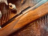 "Winchester Model 70 Pre-War Variation 4 Carbine - .30-06 Government - 20"" Barrel - Lyman 48 WJS Rear Side Mount Receiver Sight - COOL!! - 22 of 25"