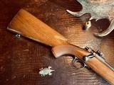 "Winchester Model 70 Pre-War Variation 4 Carbine - .30-06 Government - 20"" Barrel - Lyman 48 WJS Rear Side Mount Receiver Sight - COOL!! - 23 of 25"