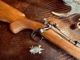 "Winchester Model 70 Pre-War Variation 4 Carbine - .30-06 Government - 20"" Barrel - Lyman 48 WJS Rear Side Mount Receiver Sight - COOL!! - 7 of 25"