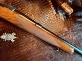 "Winchester Model 70 Pre-War Variation 4 Carbine - .30-06 Government - 20"" Barrel - Lyman 48 WJS Rear Side Mount Receiver Sight - COOL!! - 11 of 25"