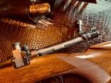 "Winchester Model 70 Pre-War Variation 4 Carbine - .30-06 Government - 20"" Barrel - Lyman 48 WJS Rear Side Mount Receiver Sight - COOL!! - 16 of 25"