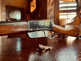 """Winchester Model 1895 Flatside - .38-72 Win - SN: 462 - 26"""" - Tapered Octagon Barrel - Crisp Action - Fine Condition - Crescent Steel Buttplate - 20 of 21"""