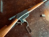 """Winchester Model 1895 Flatside - .38-72 Win - SN: 462 - 26"""" - Tapered Octagon Barrel - Crisp Action - Fine Condition - Crescent Steel Buttplate - 12 of 21"""