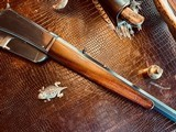 """Winchester Model 1895 Flatside - .38-72 Win - SN: 462 - 26"""" - Tapered Octagon Barrel - Crisp Action - Fine Condition - Crescent Steel Buttplate - 9 of 21"""