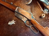 """Winchester Model 1895 Flatside - .38-72 Win - SN: 462 - 26"""" - Tapered Octagon Barrel - Crisp Action - Fine Condition - Crescent Steel Buttplate - 3 of 21"""