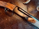 "Winchester Model 21 Flatside Custom - 20ga - IC/M - 3"" - 30"" - Straight Grip - Beavertail Forend - Vent Rib - Checkered Butt - CLEAN Shotgun!! - 20 of 23"
