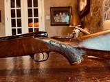 Weatherby Mark V LAZERMARK - .378 Weatherby Magnum - As New - Oak Leaf Carved Stock - Remarkable Condition and Wood Quality - Beautiful!! - 18 of 24