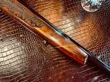 Weatherby Mark V LAZERMARK - .378 Weatherby Magnum - As New - Oak Leaf Carved Stock - Remarkable Condition and Wood Quality - Beautiful!! - 8 of 24