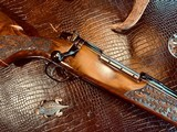 Weatherby Mark V LAZERMARK - .378 Weatherby Magnum - As New - Oak Leaf Carved Stock - Remarkable Condition and Wood Quality - Beautiful!! - 1 of 24