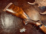Weatherby Mark V LAZERMARK - .378 Weatherby Magnum - As New - Oak Leaf Carved Stock - Remarkable Condition and Wood Quality - Beautiful!! - 17 of 24