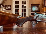 Weatherby Mark V LAZERMARK - .378 Weatherby Magnum - As New - Oak Leaf Carved Stock - Remarkable Condition and Wood Quality - Beautiful!! - 5 of 24