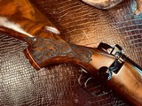 Weatherby Mark V LAZERMARK - .378 Weatherby Magnum - As New - Oak Leaf Carved Stock - Remarkable Condition and Wood Quality - Beautiful!! - 9 of 24