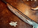 """Browning """"FN"""" SA-22 - .22LR - Angelo Bee Custom High Grade - Turkish Walnut - Gold Animals - Outstanding Engraved Background and Predator Scene - 16 of 22"""