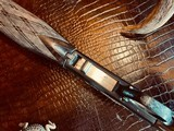 """Browning """"FN"""" SA-22 - .22LR - Angelo Bee Custom High Grade - Turkish Walnut - Gold Animals - Outstanding Engraved Background and Predator Scene - 14 of 22"""