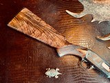 """Winchester Model 61 Deluxe #8 - """".22 Win. Mag. R. F."""" - Squirrels & Cottontails - 99% High Condition - Magnificent Black Walnut - Finest Engraving!! - 1 of 25"""