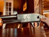 """Winchester Model 61 Deluxe #8 - """".22 Win. Mag. R. F."""" - Squirrels & Cottontails - 99% High Condition - Magnificent Black Walnut - Finest Engraving!! - 13 of 25"""