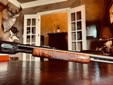 """Winchester Model 61 Deluxe #8 - """".22 Win. Mag. R. F."""" - Squirrels & Cottontails - 99% High Condition - Magnificent Black Walnut - Finest Engraving!! - 17 of 25"""