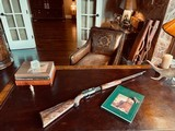 """Winchester Model 61 Deluxe #8 - """".22 Win. Mag. R. F."""" - Squirrels & Cottontails - 99% High Condition - Magnificent Black Walnut - Finest Engraving!!"""