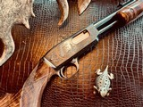 """Winchester Model 61 Deluxe #8 - """".22 Win. Mag. R. F."""" - Squirrels & Cottontails - 99% High Condition - Magnificent Black Walnut - Finest Engraving!! - 15 of 25"""
