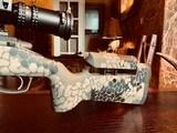 GA Precision 6.5 Creedmoor- As-New Custom - Nightforce ATACR 5x25x56 Tremor 3 - 700 rounds - 500 rds S&B 140 grain FMJ - 200 rds Nosler - 6 of 25