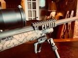 GA Precision 6.5 Creedmoor- As-New Custom - Nightforce ATACR 5x25x56 Tremor 3 - 700 rounds - 500 rds S&B 140 grain FMJ - 200 rds Nosler - 8 of 25