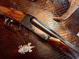 """Winchester Model 21 """"Show Gun"""" - 16ga - 26"""" - IC/M - Exquisitely Detailed Gold Custom Quail by A. DeLucia Engraved at Factory - One-of-a-kind! - 12 of 24"""