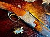 "Browning Diana Grade - 410ga - 28"" - 3"" Shells - Sk/Sk - RKST - Browning Case - Browning Buttplate - Collector Grade 99% - Lewancyk Engraved - 3 of 24"