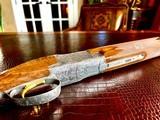 "Browning Diana Grade - 410ga - 28"" - 3"" Shells - Sk/Sk - RKST - Browning Case - Browning Buttplate - Collector Grade 99% - Lewancyk Engraved - 24 of 24"