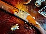 "Browning Diana Grade - 410ga - 28"" - 3"" Shells - Sk/Sk - RKST - Browning Case - Browning Buttplate - Collector Grade 99% - Lewancyk Engraved - 1 of 24"