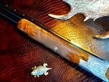 "Browning Diana Grade - 410ga - 28"" - 3"" Shells - Sk/Sk - RKST - Browning Case - Browning Buttplate - Collector Grade 99% - Lewancyk Engraved - 14 of 24"