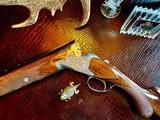 "Browning Diana Grade - 410ga - 28"" - 3"" Shells - Sk/Sk - RKST - Browning Case - Browning Buttplate - Collector Grade 99% - Lewancyk Engraved - 23 of 24"